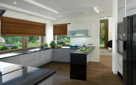 Окно в кухне — идеи оформления