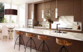 Варианты оформления барной стойки на кухне