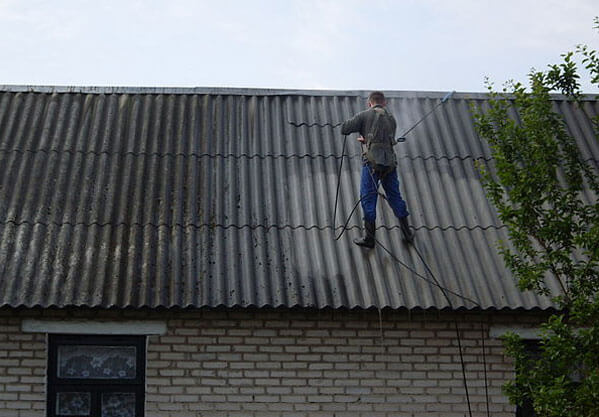 Заделка слабых мест крыши