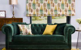 Цвет в главной роли – модный дизайн гостиной