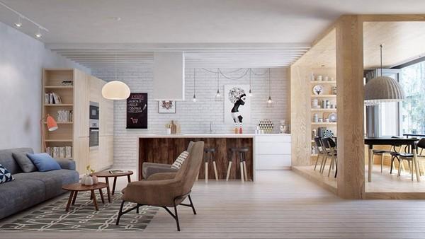 Свежий взгляд на эклектичный дизайн квартиры