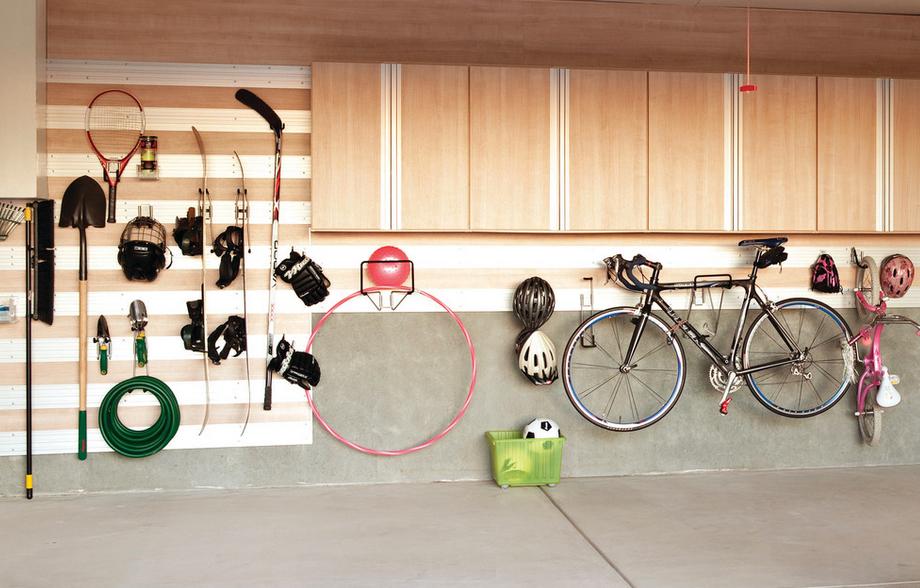Как обустроить гаражи: советы и примеры