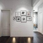 Белый цвет для интерьера прихожей – необычное и выигрышное решение