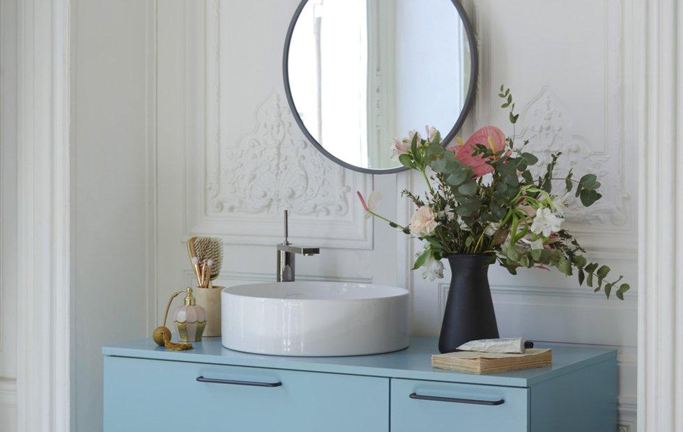 Ванная комната под мрамор: идеи элегантного интерьера