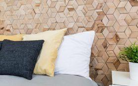 Накладка пробковая — современное украшение стены