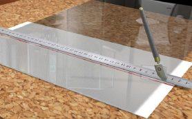Как правильно резать стекло стеклорезом в домашних условиях?