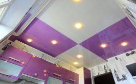 Натяжной потолок в ванной или на кухне? Есть подходящий материал!