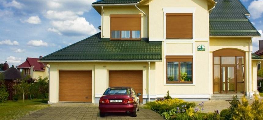 Автоматические ворота для гаража и участка