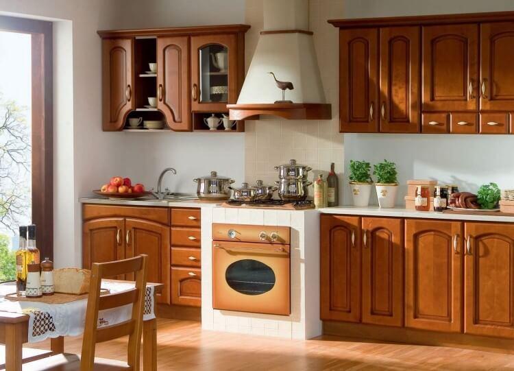 Выбор фасада для кухонного гарнитура