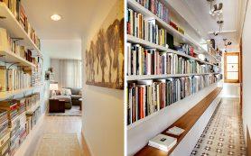Интересные идеи хранения книг, когда места совсем не хватает