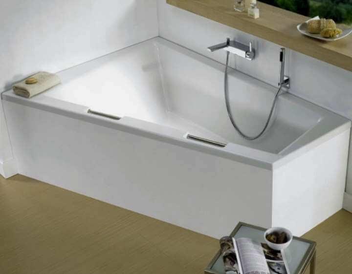 Угловая чугунная ванна — чем выгодно такое приобретение