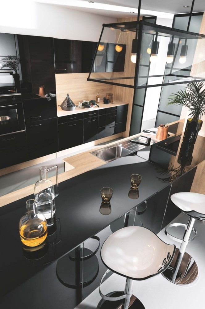 Как обустроить квартиру-студию с грамотно спланированной кухней