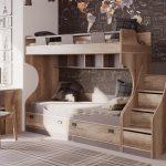 Кровать-чердак — решение для маленькой квартиры