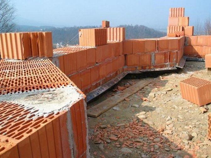 Плюсы и минусы поризованных керамических блоков